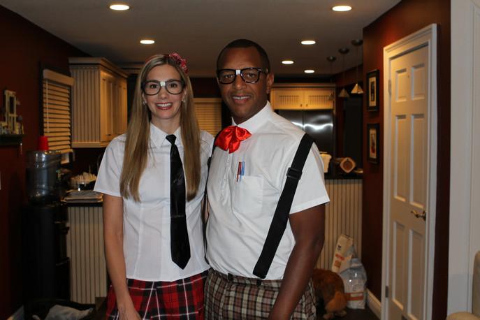 Halloween nerds!