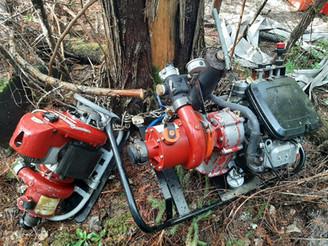 BC WILDFIRE SERVICE - WILDFIRE PUMPS STOLEN UP PONDEROSA FSR