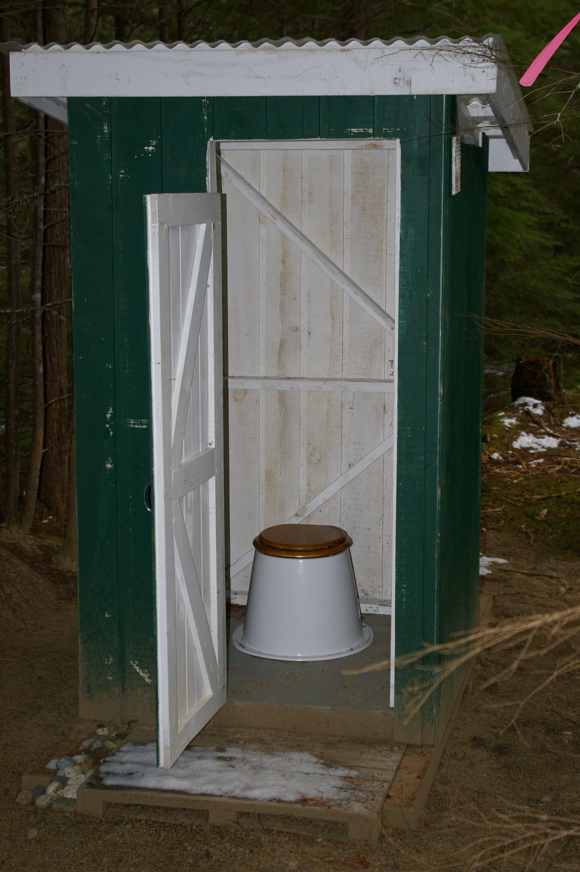 INTERIOR OF THE NEW OUTHOUSES