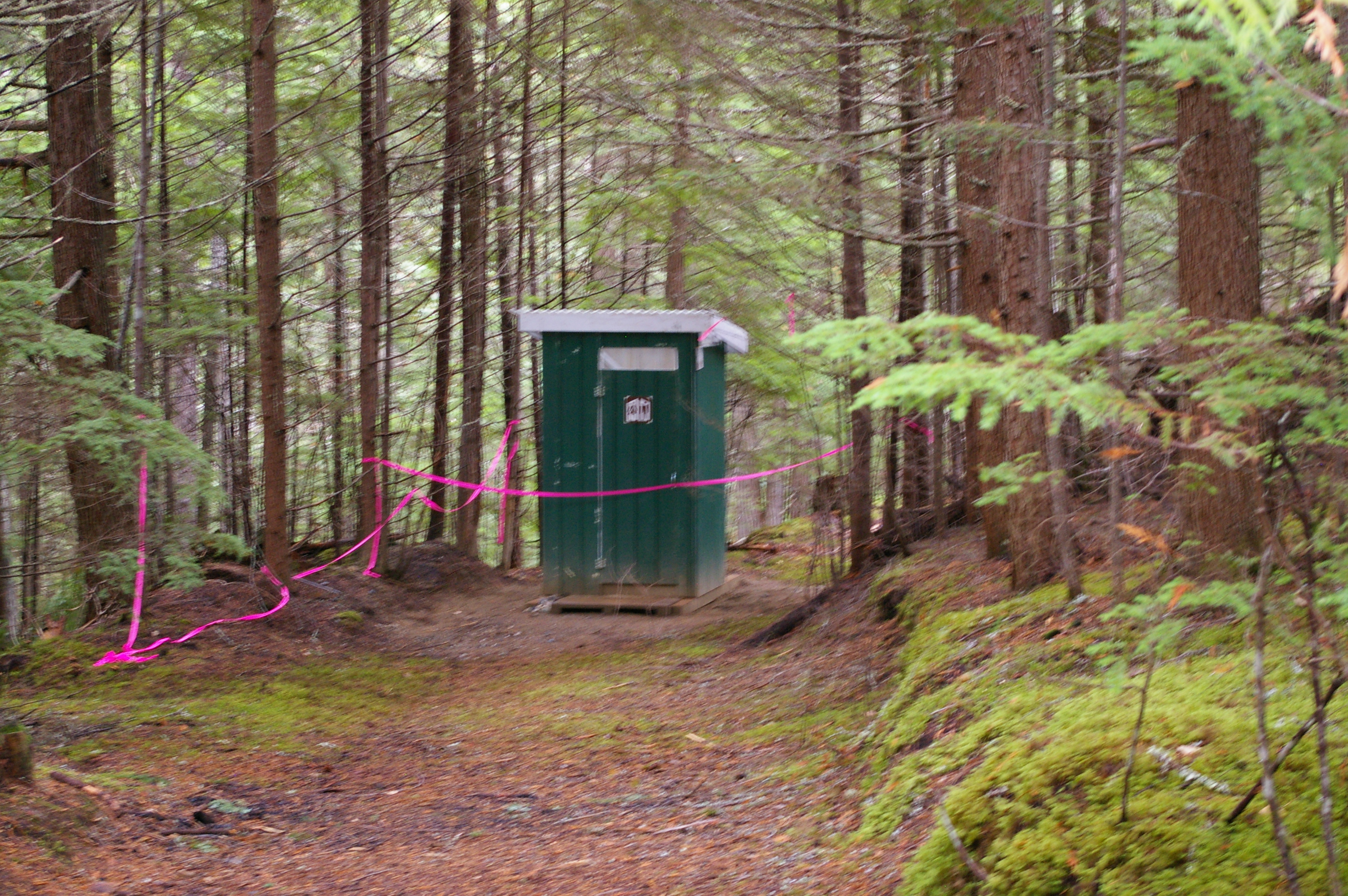 NEW OUTHOUSES