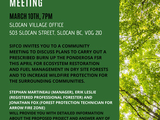PRESCRIBED BURN COMMUNITY MEETING