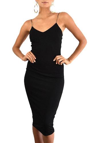 VICKY BLACK DRESS