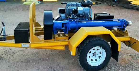 Borehole drilling pump