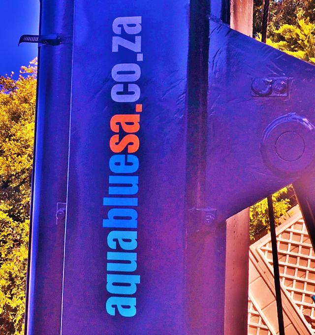 AquaBlue SA borehole drill rig