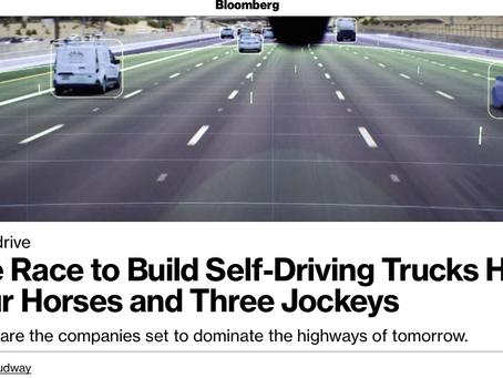 Self-driving trucks are still pie in the sky