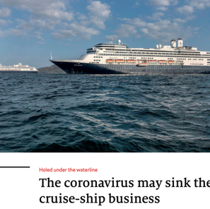 Will cruise lines become the fastest collapsing industry ever?
