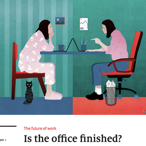 What is the future of offices and, hence, organisations?