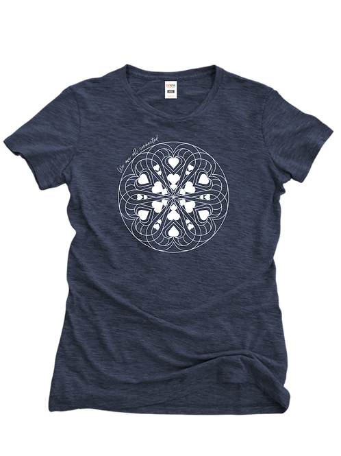 Connected Tee (Navy)