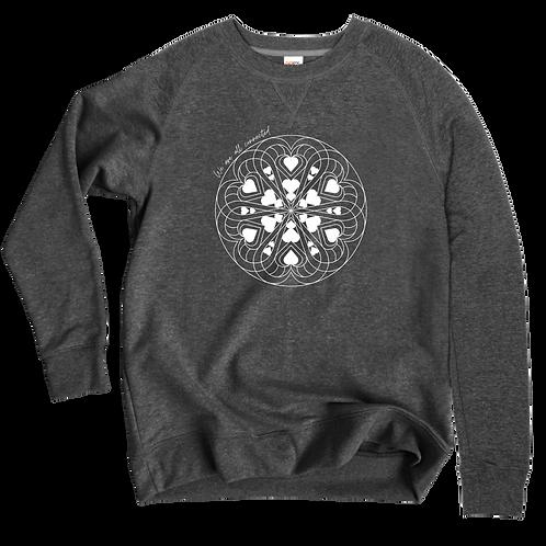 Connected Sweatshirt Crew (Charcoal)