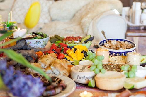 Edible colours feast