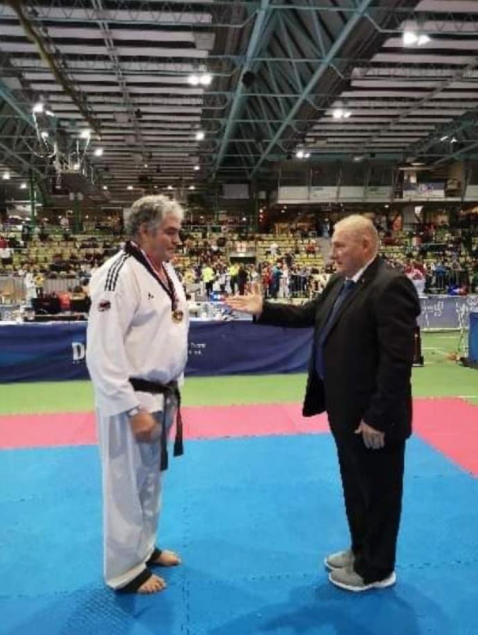 Plus de 40 ans de Taekwondo à son actif!