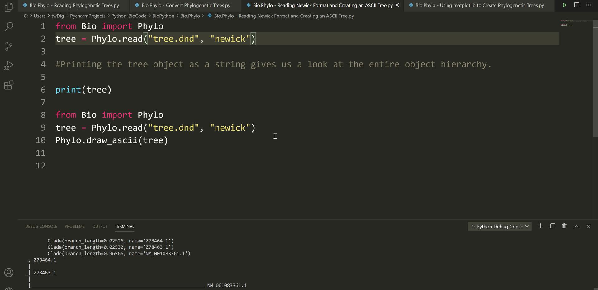 Python Scripting (4)-Phylogenetics (1).p