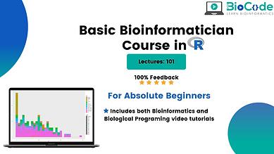 Basic Bioinformatician Course in R   .pn