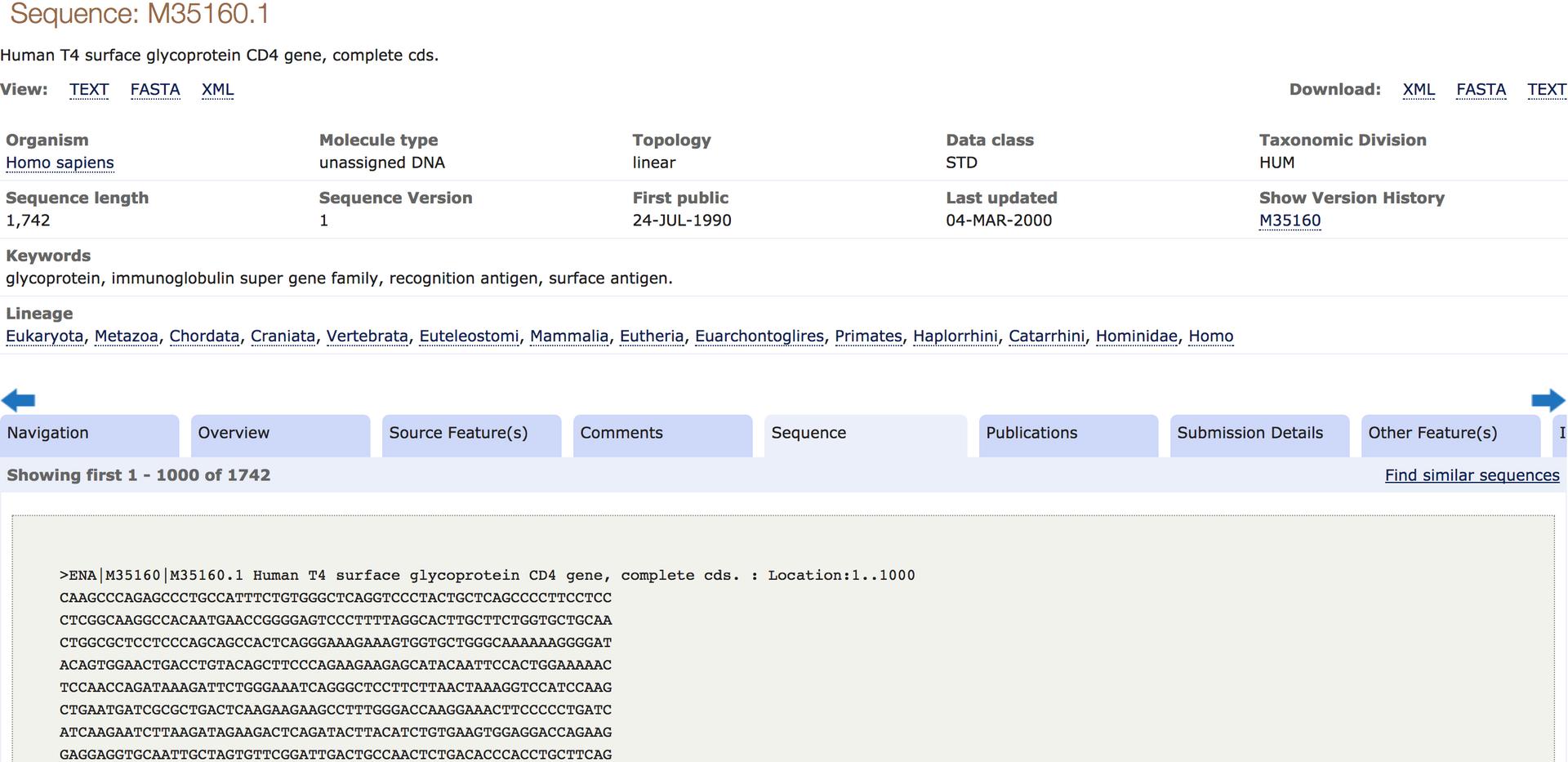 Database Analysis-Sequence Retrieval (4)