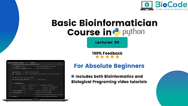 Basic Bioinformatician Course in Python