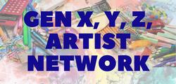 generational artist web banner