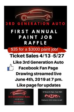 3rd Generation Auto flyer