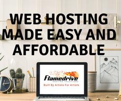 Flamedrive Hosting Ad
