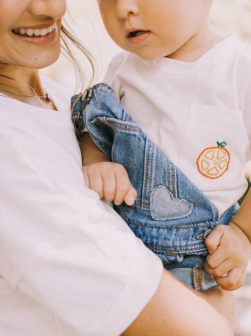Blusa Metade de Laranja - Baby