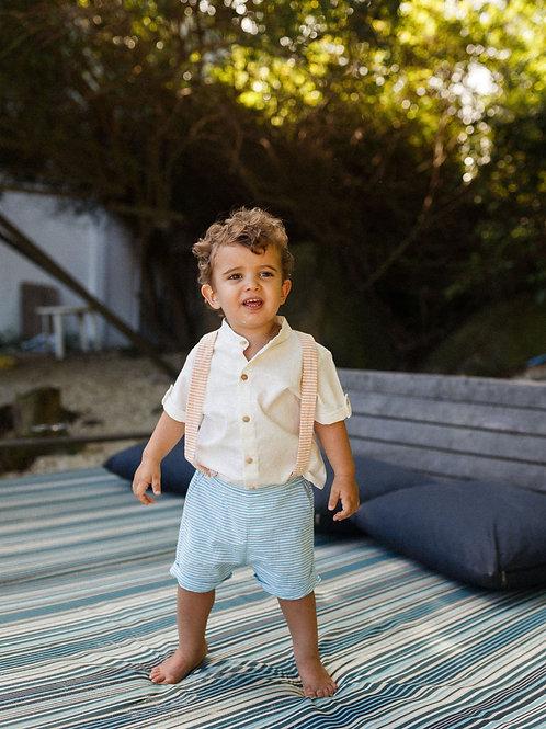 Camisa Rafa - Botōes Madeira