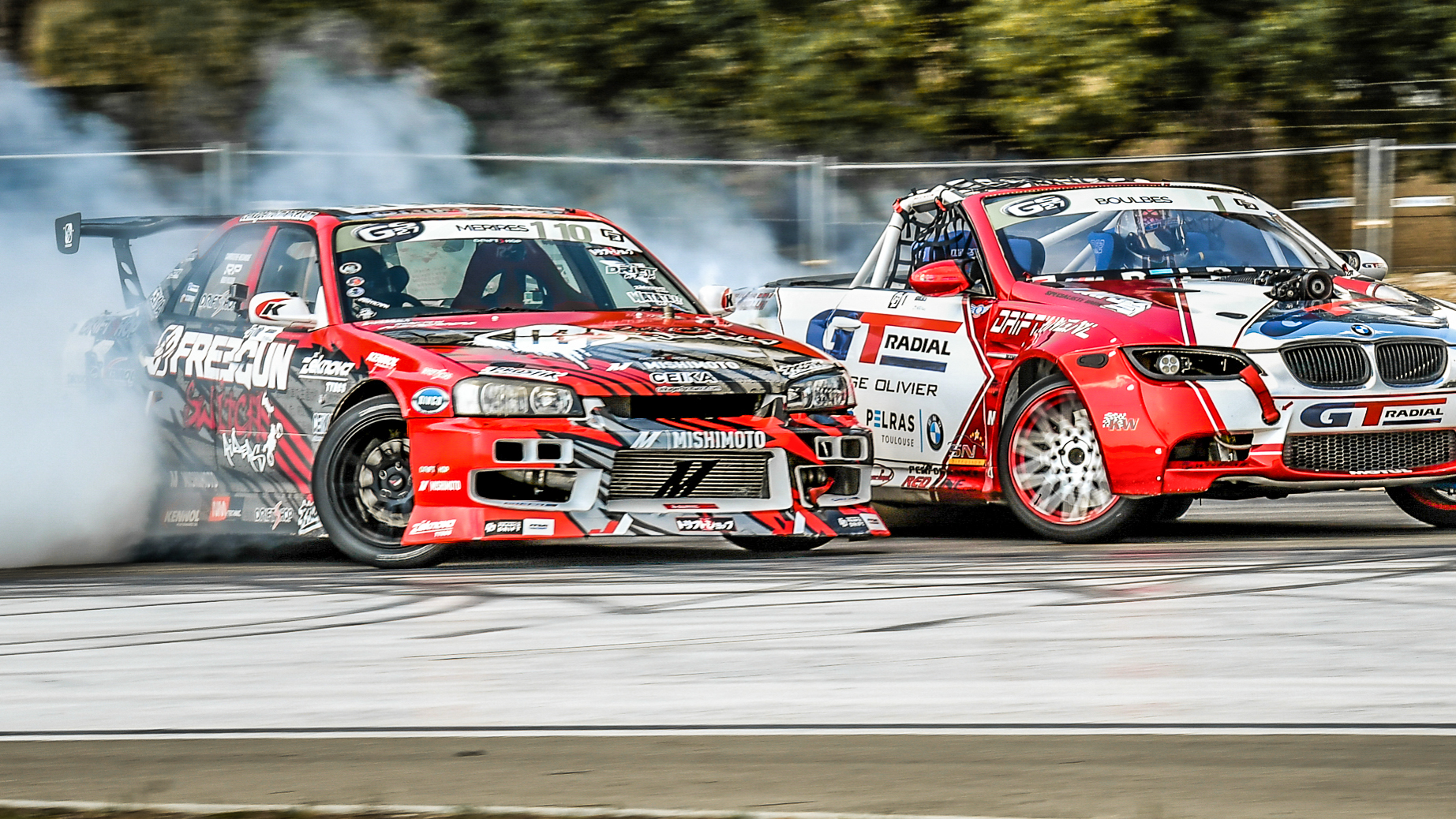 BMW E93 VS SKYLINE ER34 - BATTLE TOP 16 - CFD ROUND 2