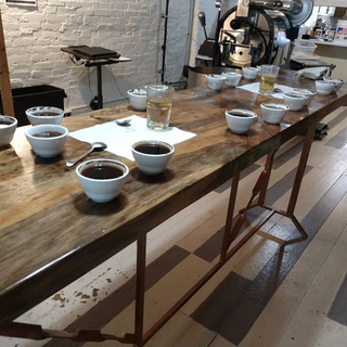 First cupping on the new table.png