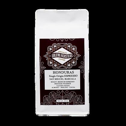 Honduras Single Origin Espresso San Miguel Marcala