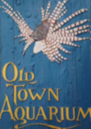 Iconic Old Town Aquarium Sign
