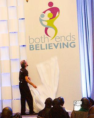 Both Ends Beleiving, Symposium 2017 Washington DC, mayflower hotel, global working group