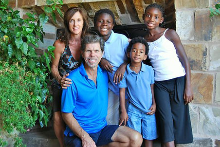 Family of Craig Juntenun in their home in Arizona