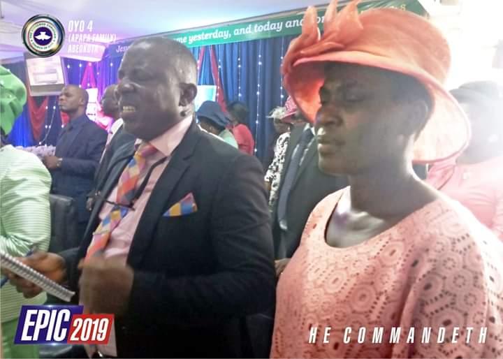 Pastor in charge of Zone & Wife, Pastor Abel O. Olusegun & Pastor Mrs. Oluwaranmilowo Abel