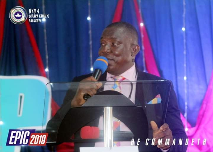 Pastor Abel O. Olusegun, Pastor in charge of Zone