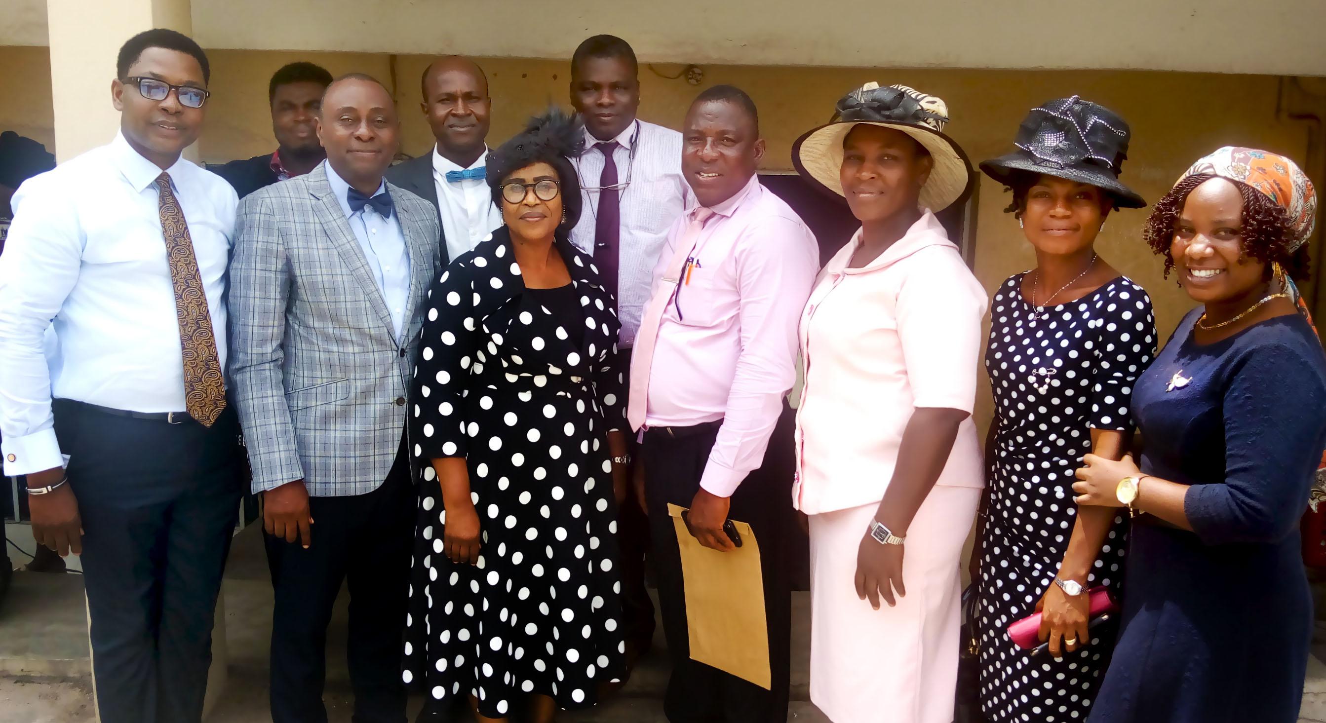 Pastor Ayorinde Awe, APICP CSR Oyo 4 visit
