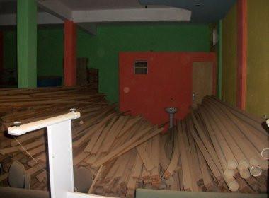 Irecê: MSTB encontra depósito do Instituto Brasil abandonado com materiais de construção