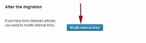 Fix broken internal links after importing content from Joomla to WordPress