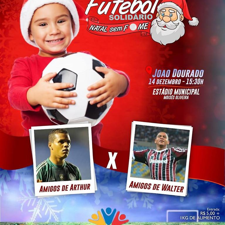 """#Evento: Prefeitura une futebol e solidariedade em evento """"Natal Sem Fome"""" 🎅"""