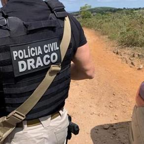 Irmãos suspeitos de tráfico internacional de drogas são localizados no interior da Bahia