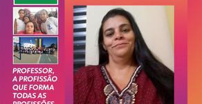 Professora de América Dourada é escolhida entre os TOP 50 no Prêmio Educadora Nota 10.