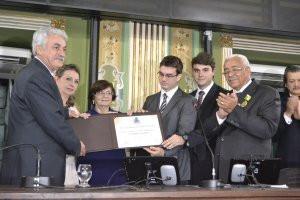 Humberto Cedraz recebe título de cidadão soteropolitano