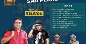 Evento: Confira a programação da Ressaca do São Pedro de América Dourada. #2019