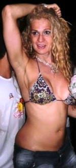 Paulinha Lins como era conhecida nas baladas o Clécio Gomes.