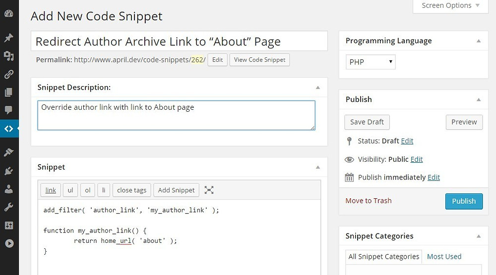 code-snippets-cpt-edit-post