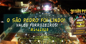 São Pedro de América Dourada se consolida como melhor São Pedro da Bahia.
