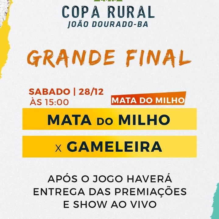 FINAL DA COPA RURAL EM MATA DO MILHO # EVENTO