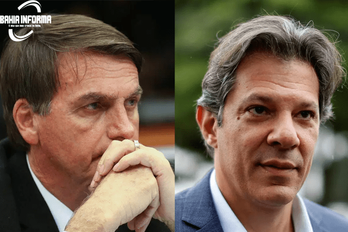 HADDAD E BOLSONARO: corrida presidencial para o segundo turno começa nesta segunda-feira (Montagem/EXAME)