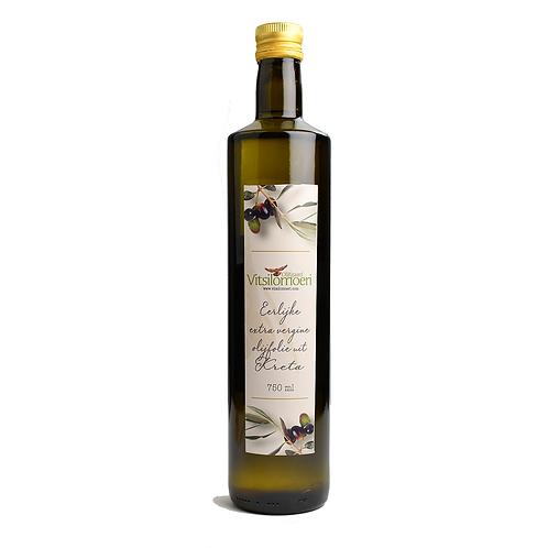 Vitsilomoeri ekstra jomfru olivenolie 750ML