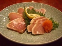 White Tuna Tataki
