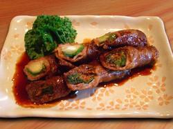 Beef Asparagus Maki