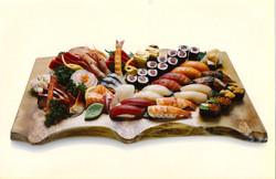 Sushi Sashimi Platter for 4