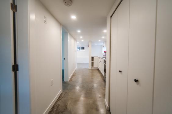 Garden Suite Renovation (Hallway)